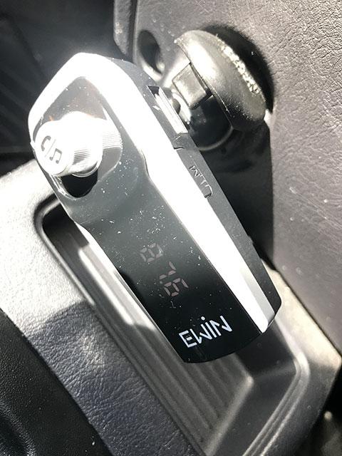 Ewin FMトランスミッターの利用状況
