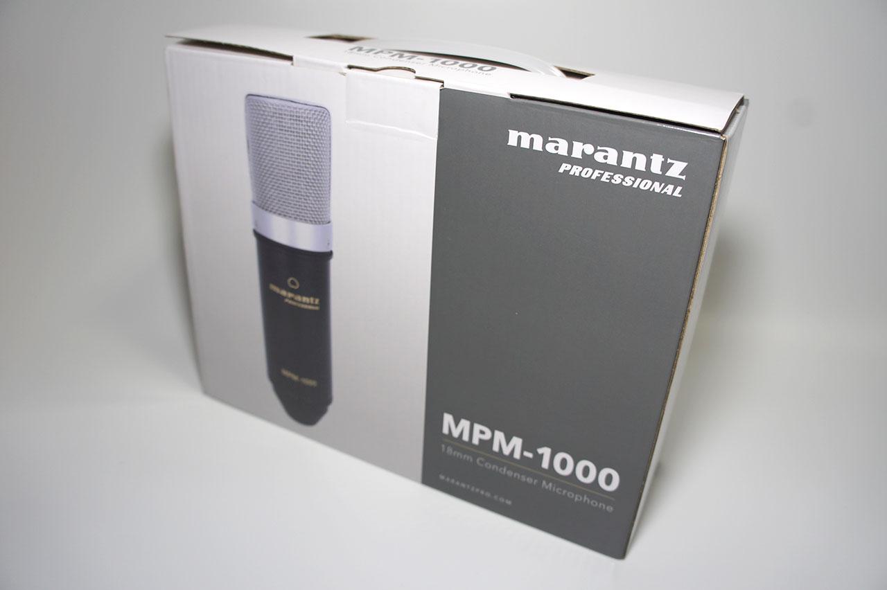 Marantz MPM-1000 外箱