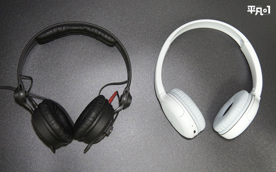 SONY WH-CH510 のサイズ感
