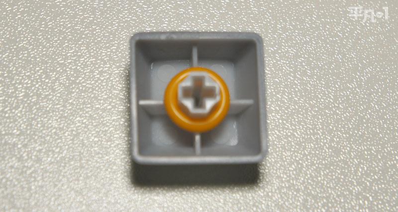 Razer BlackWidow Lite Mercury White O-リング装着